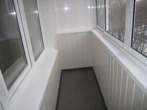 Как обшить балкон изнутри - всё о балконе.