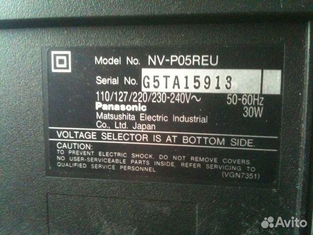 Panasonic NV-P05R — фотография
