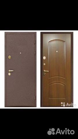 дешевые металлические двери 80 см