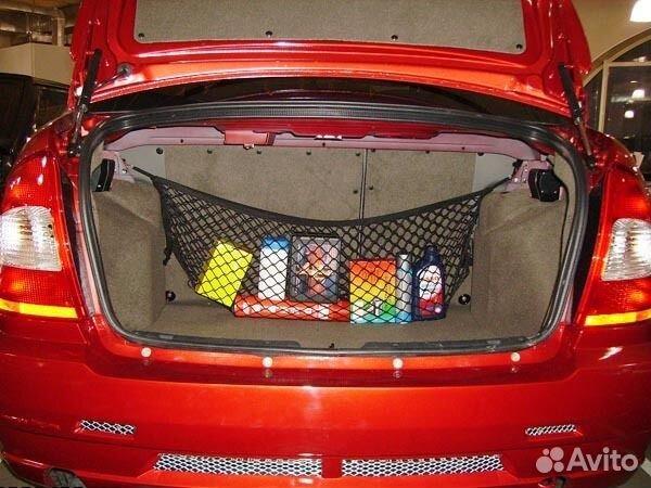 Сетка на багажник своими руками 960