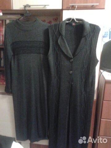 Платье и кардиган 89126957364 купить 1