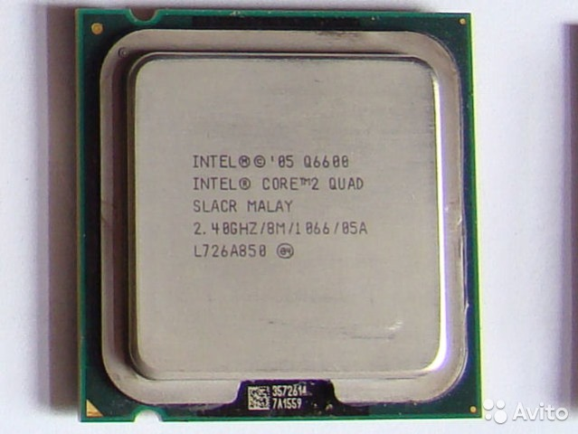 Процессор intel core 2 quad processor q6600