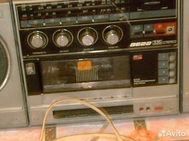 Магнитола вега-335-стерео 1990года.