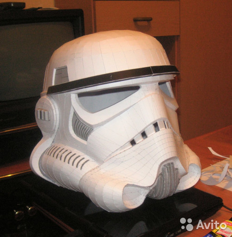 Как сделать для шлема штурмовика 219