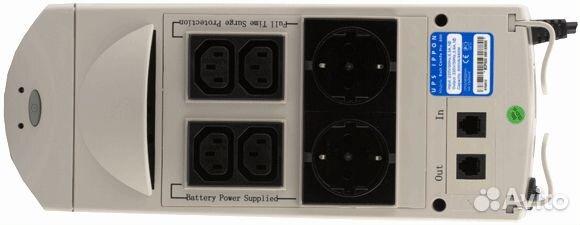 В продаже UPS / ибп Ippon Back Comfo Pro 600 по доступной цене c фотография