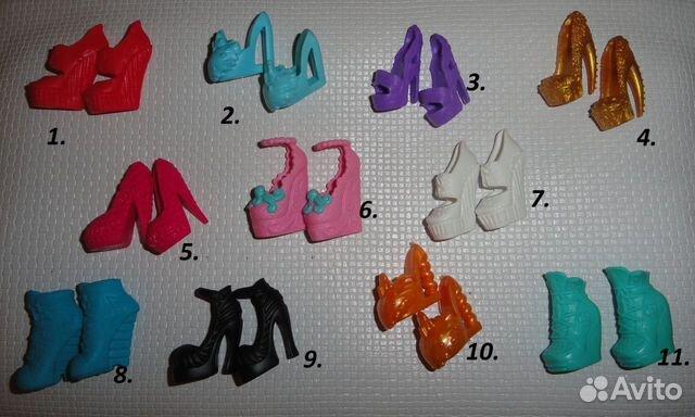 Как сделать обувь для кукол монстер хай