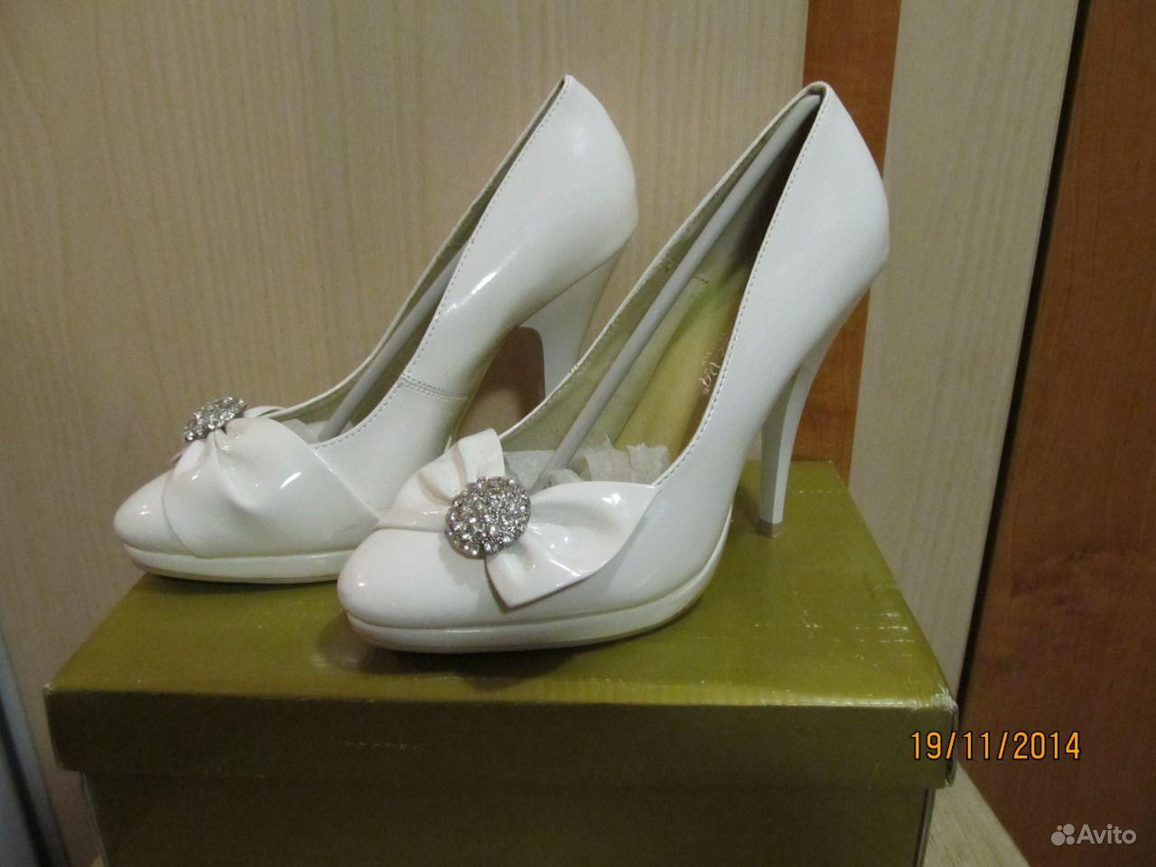 Белые секс туфельки