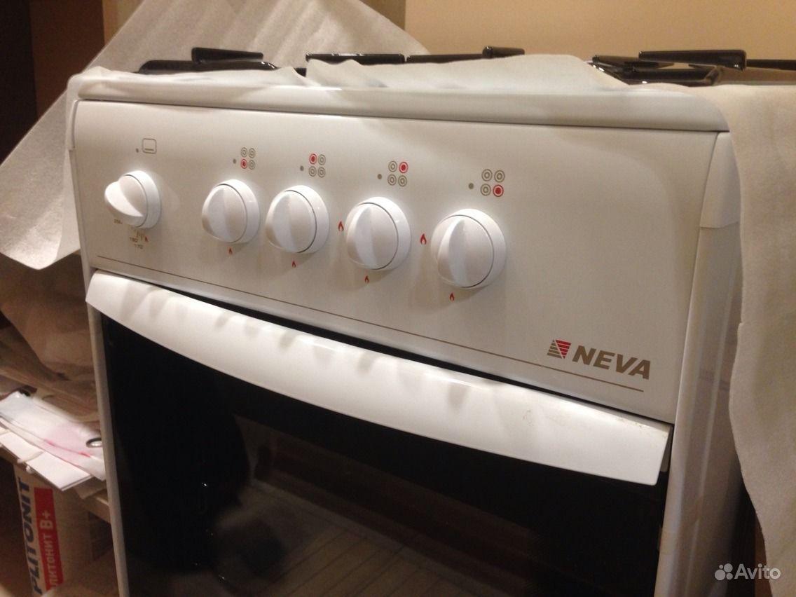 Купить газовую плиту Neva 54 -1 в Москве - Техносила
