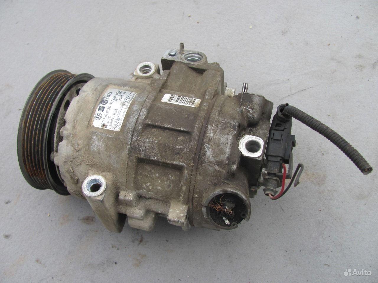 skoda fabia 2005 компрессор кондиционера
