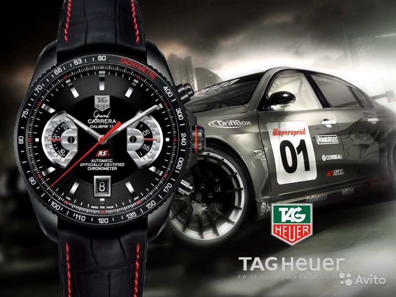 tag heuer carrera calibre 17 rs2 кожей
