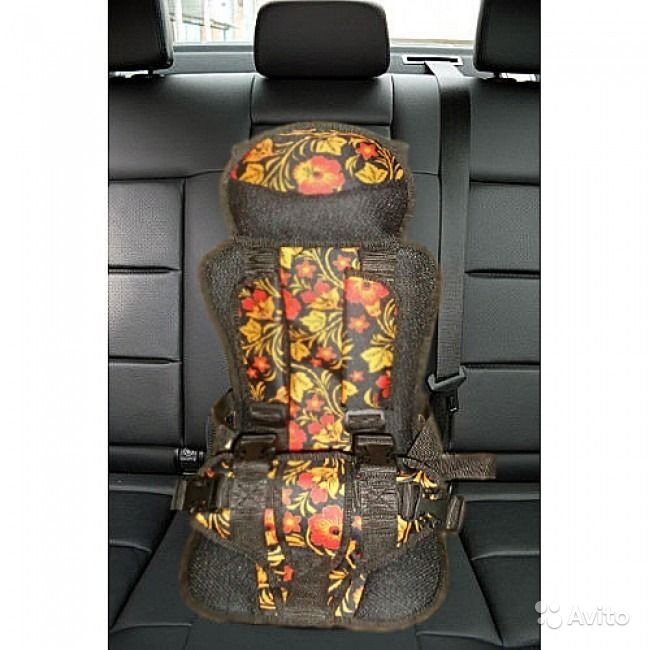 Детские бескаркасные кресла для автомобиля