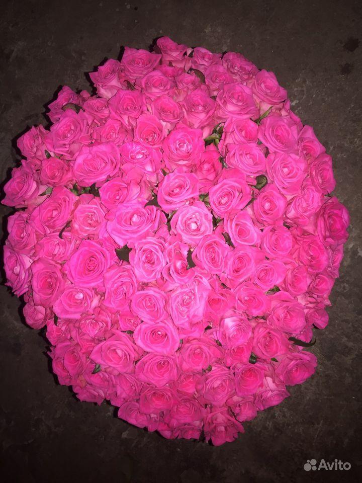 Букет 101 роза купить на Зозу.ру - фотография № 2