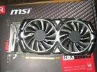 MSI AMD Radeon RX 570 armor 4 Гб