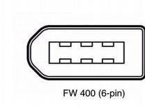 FireWire кабель 800-400 9-6pin 3мет Новый Ieee1394 — Товары для компьютера в Санкт-Петербурге
