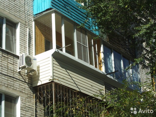 Остекление балкона с внутренней отделкой пвх купить в хабаро.