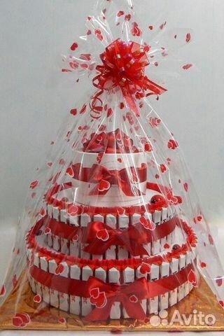 Торт из конфет картинки
