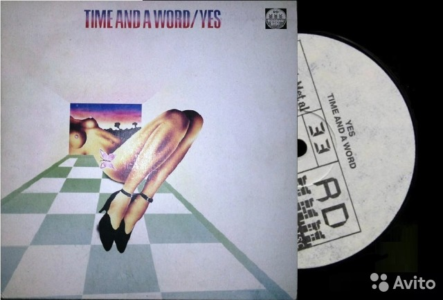 Yes - Time and A Word 1970 lp Russia— фотография №1