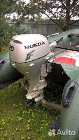 лодочный мотор хонда в твери