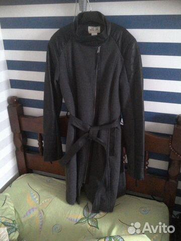 Новое натуральное замшевое пальтишко из США р.44   Festima.Ru ... 7477159d800