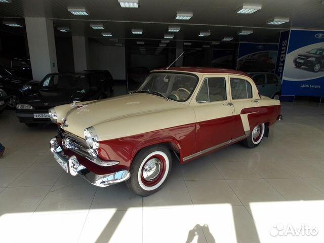ГАЗ 21 Волга, до 1960 — фотография №1
