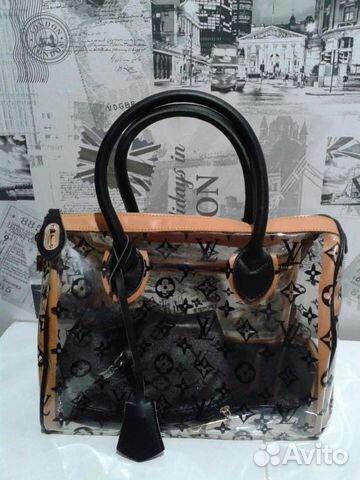 Сумка Louis Vuitton прозрачная чёрная   Festima.Ru - Мониторинг ... fb3c653bafb
