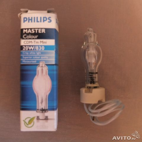 Лампа Philips Master Colour CDM-Tm Mini 20W/830— фотография №1