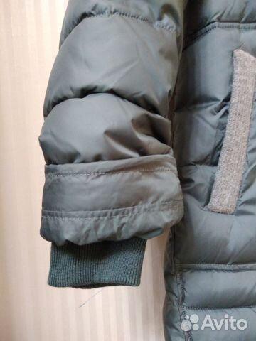 Продам новое пуховое пальто зима-весна размер 48