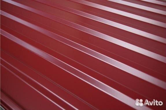 Профилированный лист мп-20 заборный 1100 мм 8017 89200111177 купить 1