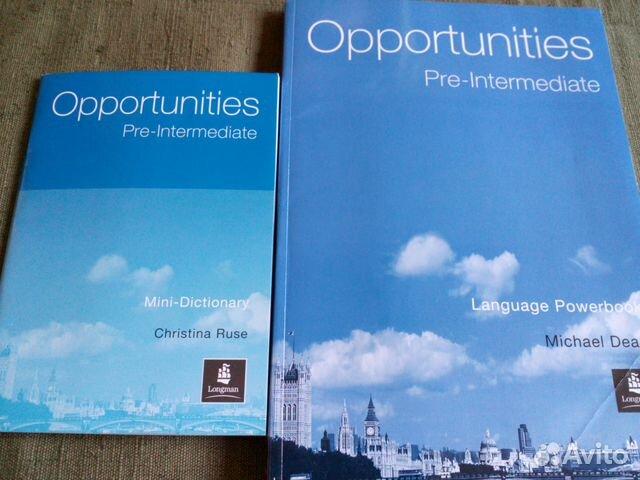 учебнику pre intermediate opportunities решебник