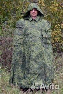 плащ-палатка армейская фото