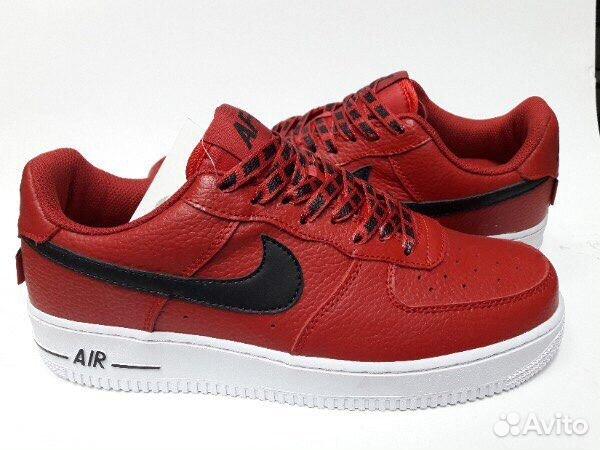 0ac3de12 Кроссовки Nike Air Force af1 красные 41-45   Festima.Ru - Мониторинг ...
