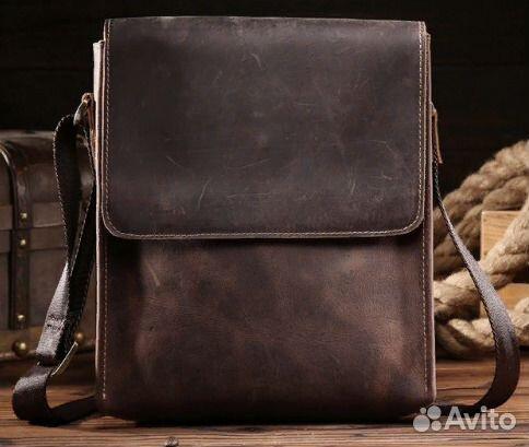 17c17d9f5ffe Мужская сумка на плечо из коровьей кожи | Festima.Ru - Мониторинг ...