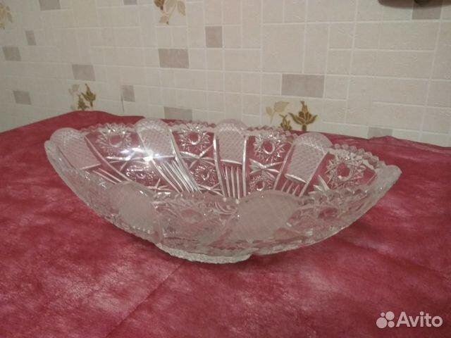 Хрустальные вазы,салатники,бокалы 89534656290 купить 1