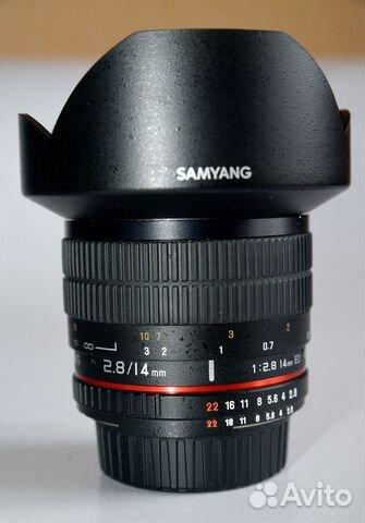 Samyang 14mm f/2 8 ED AS IF UMC AE Nikon F