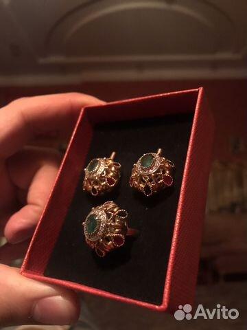 03b184d2ff2f Ювелирные изделия с бриллиантами изумрудами   Festima.Ru ...
