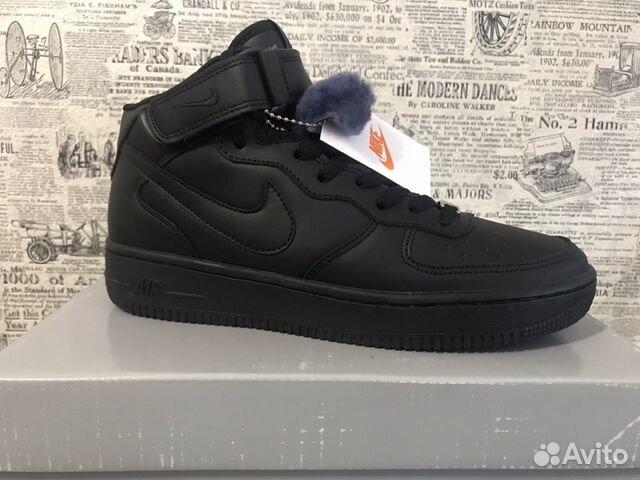 9efdccb4 Кроссовки Nike Air Force зимние   Festima.Ru - Мониторинг объявлений