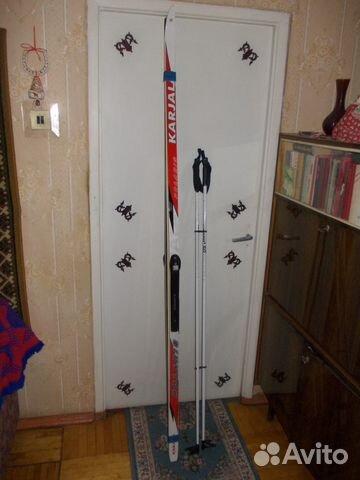Беговые лыжи пластиковые 207 - состояние новых купить в Санкт ... cf7f3eb3a06