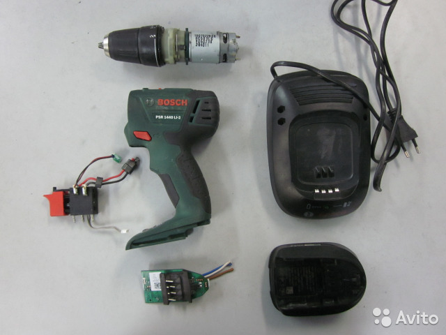 Top Bosch PSR 1440 LI-2 на запчасти   Festima.Ru - Мониторинг объявлений AZ85