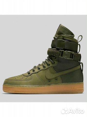 bbe032c8 Кроссовки Nike Air Force 1 SF Khaki купить в Москве на Avito ...