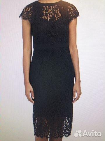 04662db35e6 Платье Bebe черное гипюр новое р.42-44 купить в Москве на Avito ...