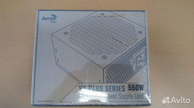 c7d8e1f60f09c Блок питания Aero Cool VX plus 550W купить в Москве на Avito ...