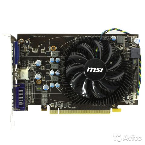 Видеокарта PCI-E 1Gb ATI Radeon HD6770 MSI