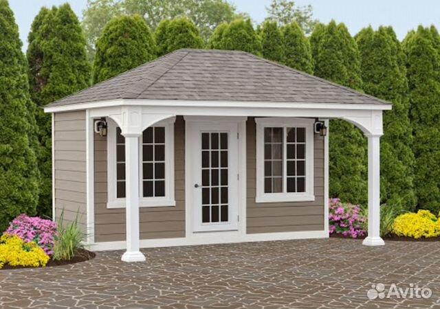 Садовый домик 3,5 х 2,5  купить 5