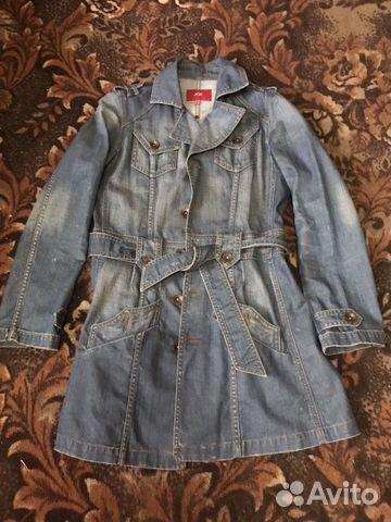 Куртка джинсовая, кардиган и платья купить 4