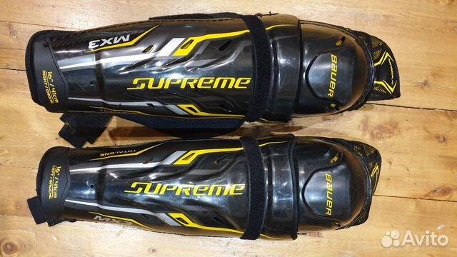 89036020550 Хоккейные щитки Bauer supreme mx3, p. 16, бу