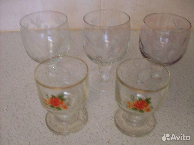 Рюмки и стаканы СССР 89200217567 купить 3