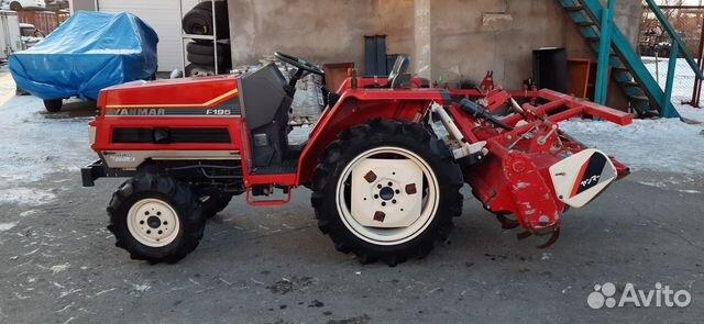 Дизельный трактор Yanmar F195 без пробега по РФ