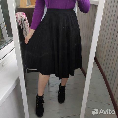 Новая теплая юбка