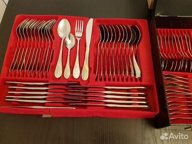Немецкий набор столовых приборов на 12 персон 72 п 89894580191 купить 4