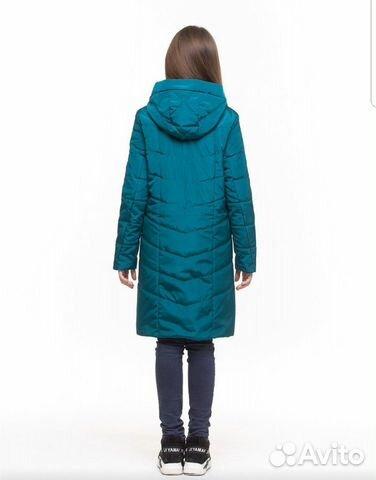 Демисезонное пальто 152-158 89206265449 купить 2